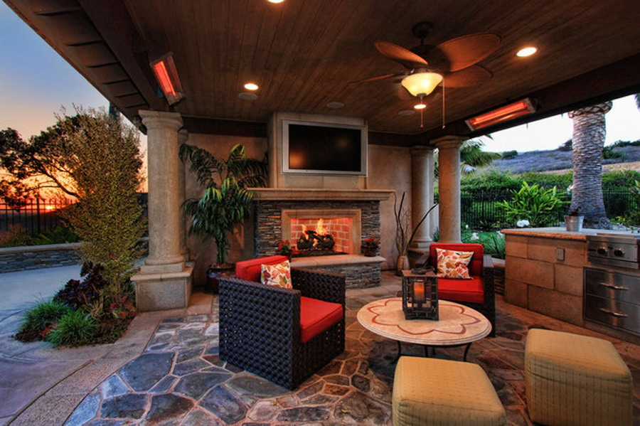 Custom Wall Mounted Infrared Patio Heaters Ideas